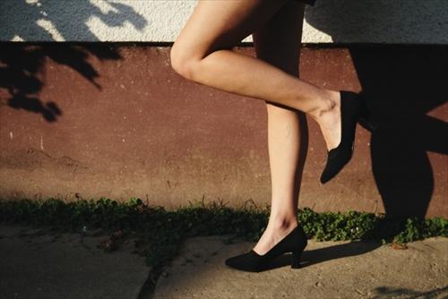 脚やせの効果を実感する人