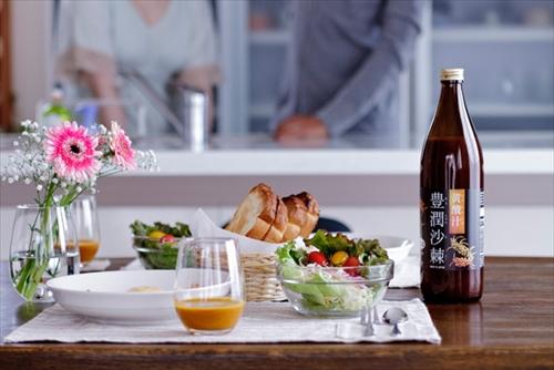 豊潤サジーと食事のイメージ