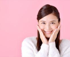 高級な美顔器に満足な女性